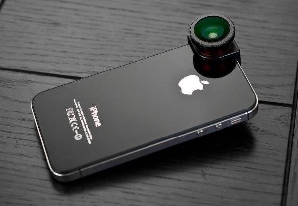 Objetivo ojo de pez para Iphone