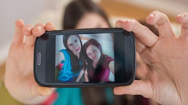 Chicas en una selfie