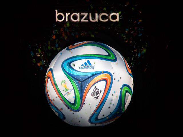Brazuca-Balón oficial de la Copa del Mundo Brasil 2014
