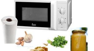 5 usos poco comunes para el microondas