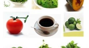Alimentos con pocas calorías