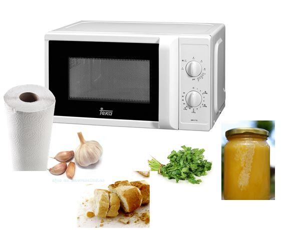 Diferentes usos para el microondas