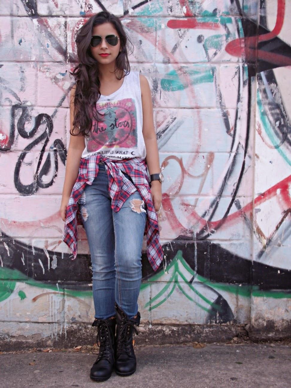 Juliana de Azul y Glamour