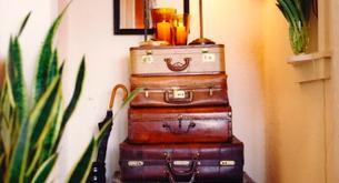 Cómo reutilizar una maleta antigua