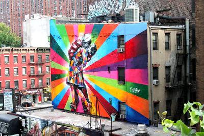5 obras asombrosas de arte callejero