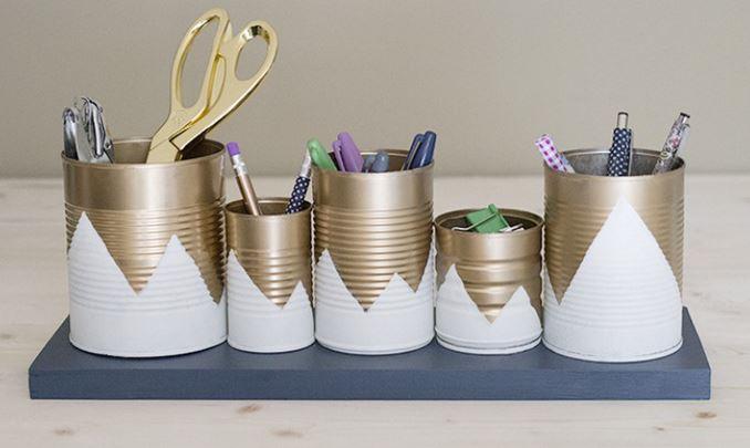 Proyectos para reciclar latas