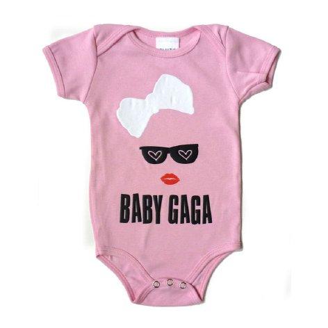 Mono de Lady Gaga para bebés