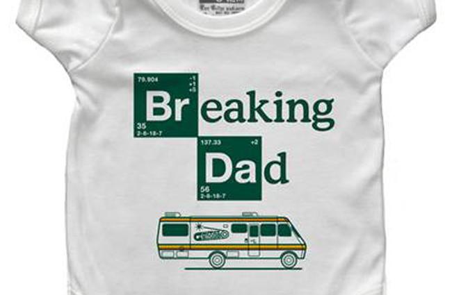 Mono de Breaking Bad para bebés